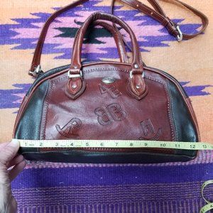 American West Leather Modified Doctors Bag